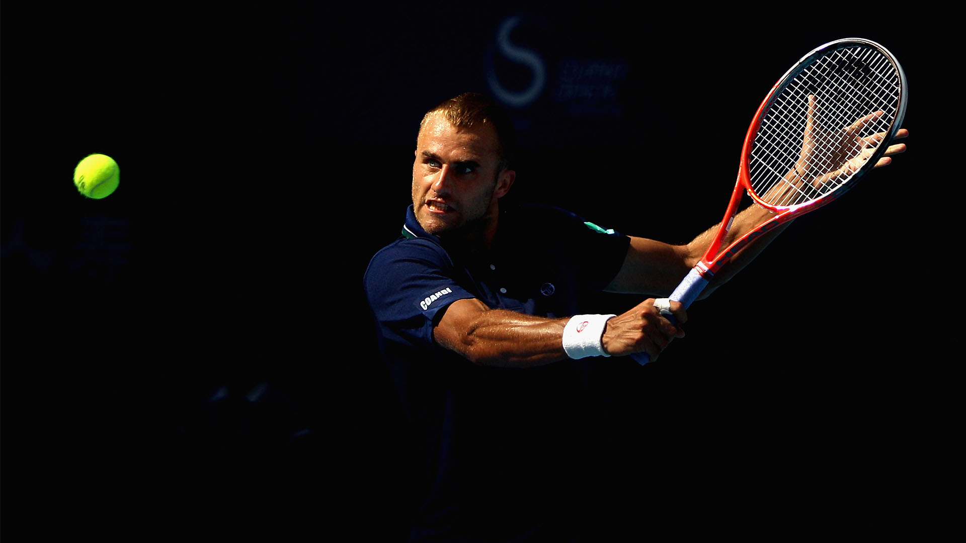 Marius Copil during the tennis tournament from China, Beijing