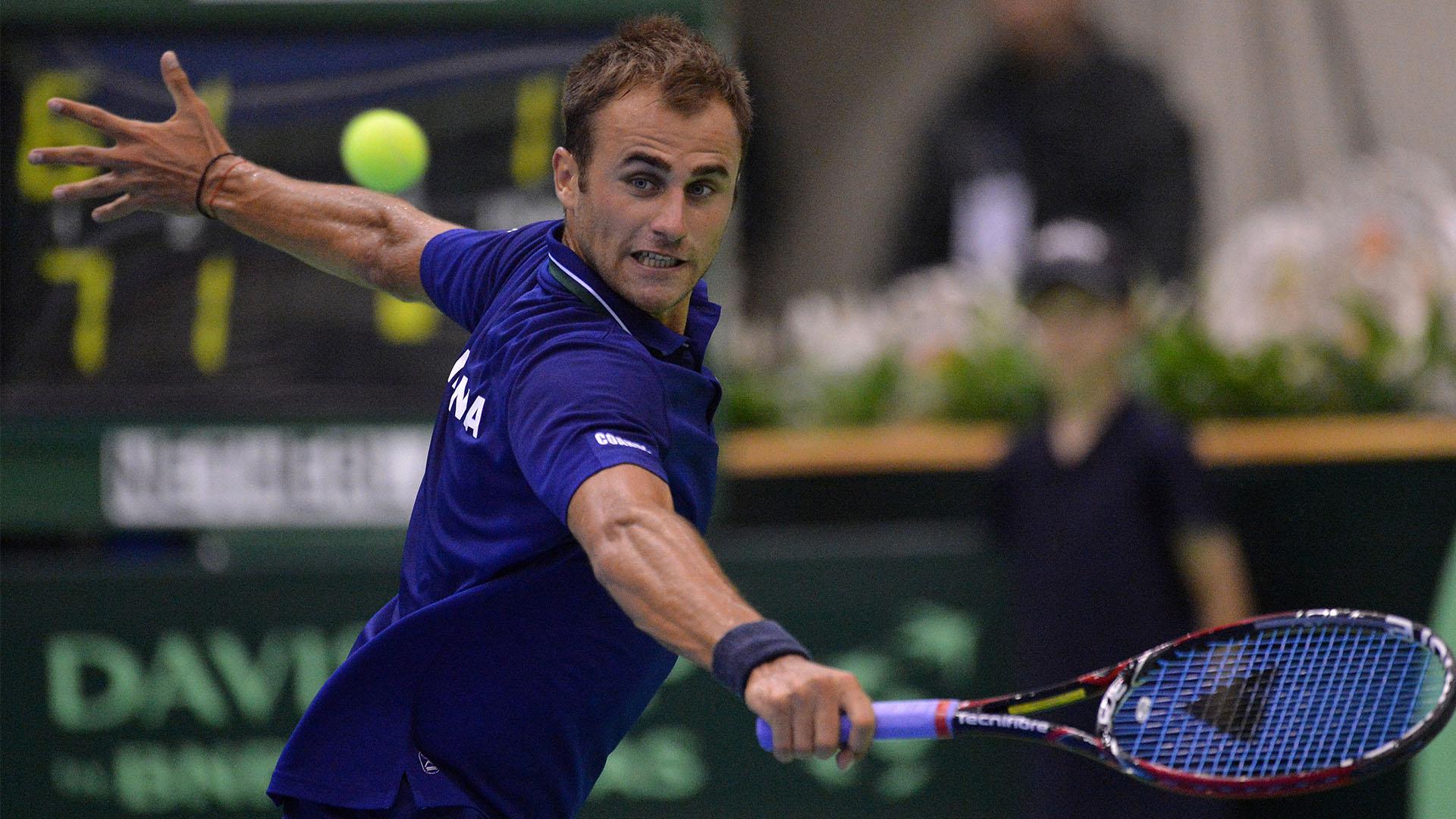 Marius Copil, Cupa Davis vs Croatia