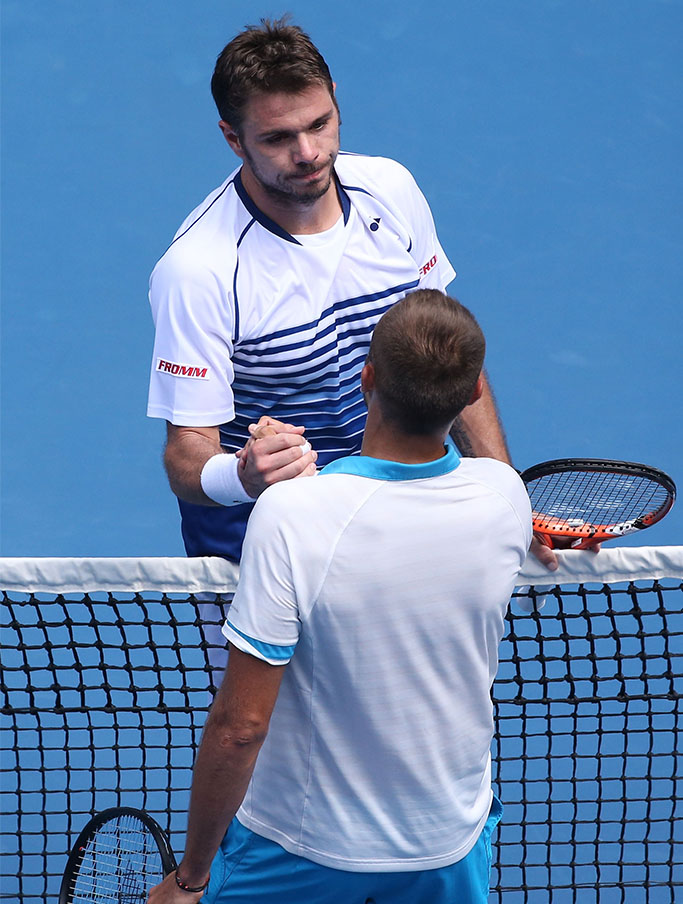 Marius Copil vs Stan Wawrinka, Australian Open
