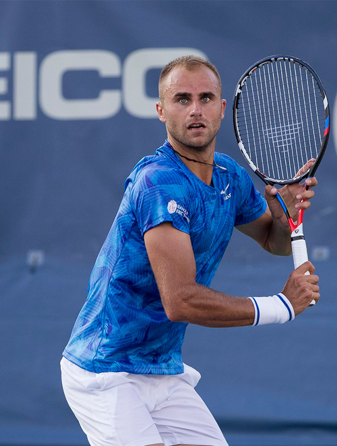 Marius Copil in timpul turneului CITI OPEN, WASHINGTON