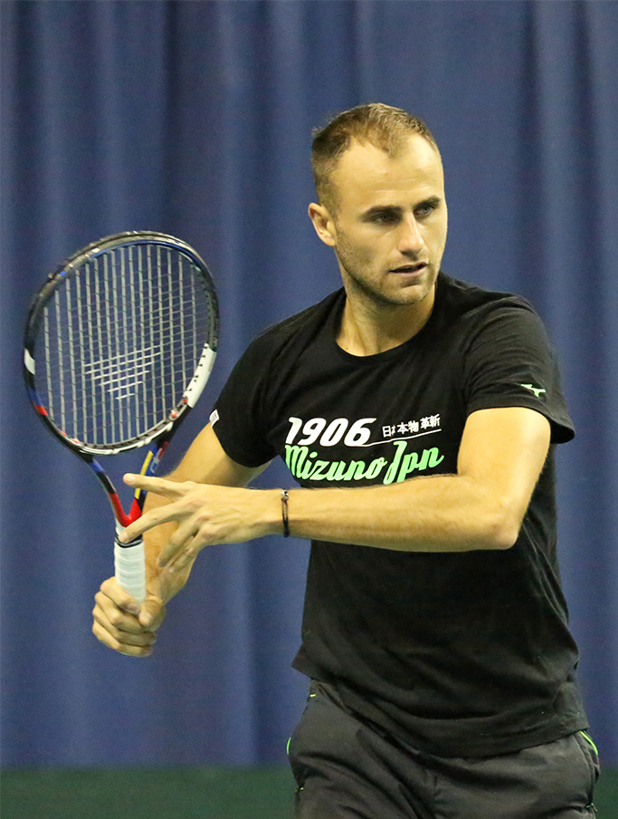Marius Copil against Belarus, Davis Cup