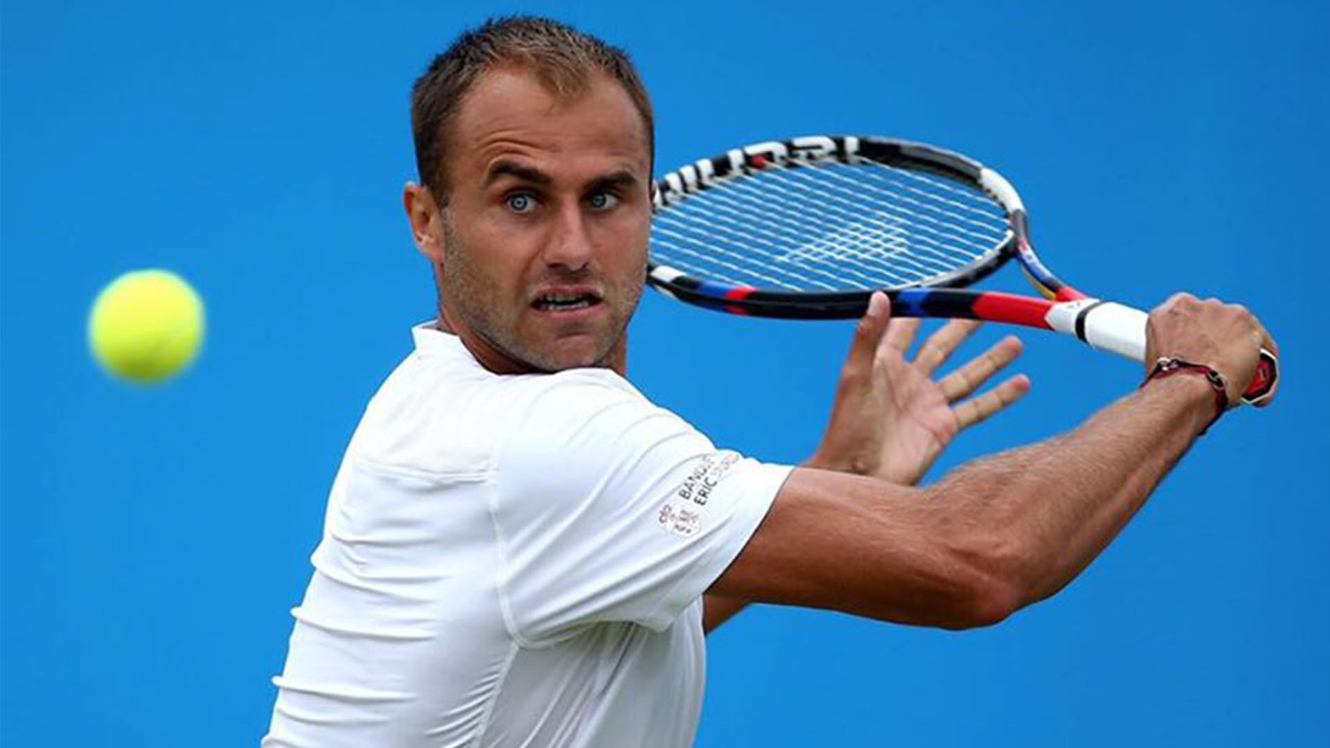 Marius Copil in timpul turneului ATP Aegon Open Nottingham