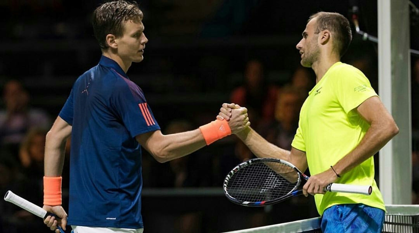 Marius Copil vs Thomas Berdich la Rotterdam Open ATP
