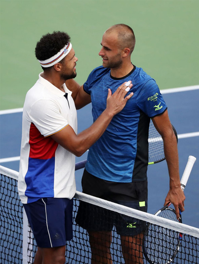 Marius Copil vs Jo-Wilfried Tsonga, ATP US Open 2017