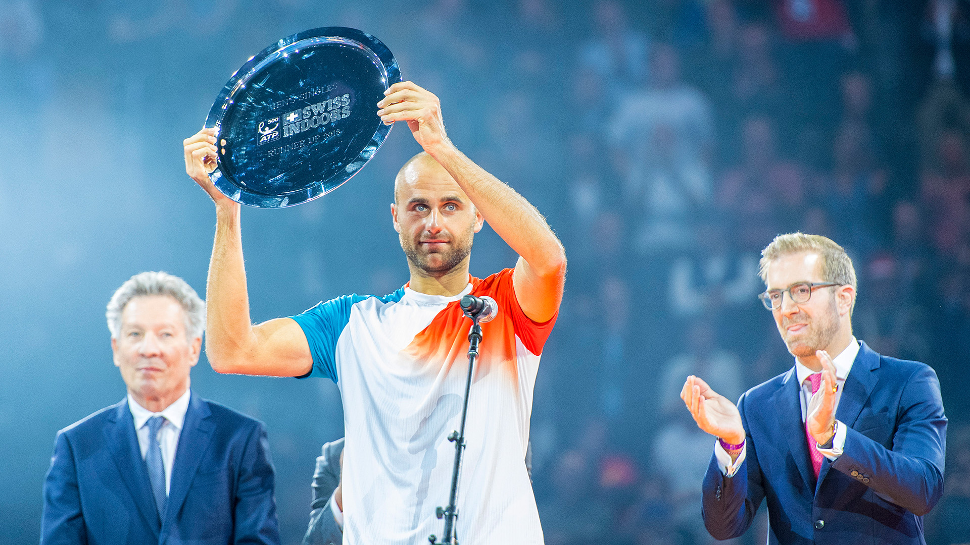 Copil in the finals at Basel