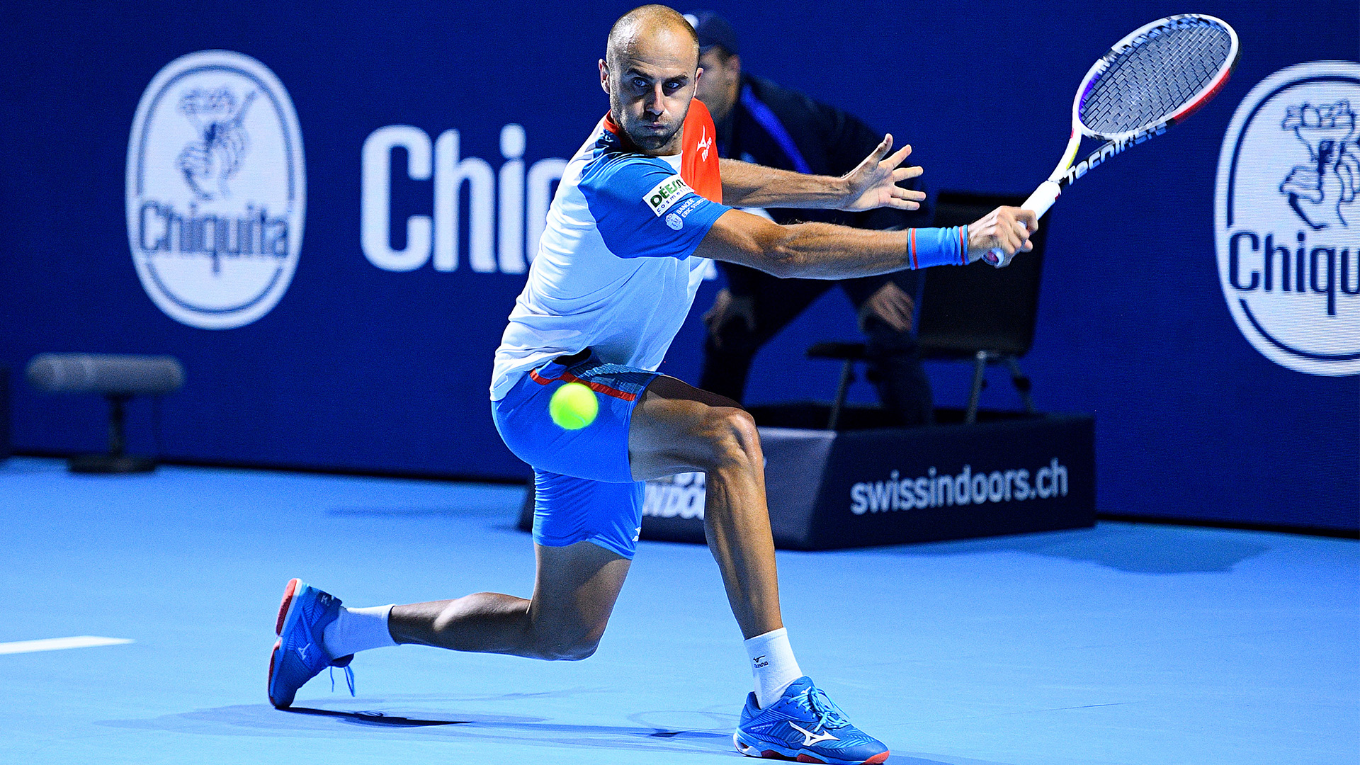 Copil qualified in the finals, at Swiss Indoors