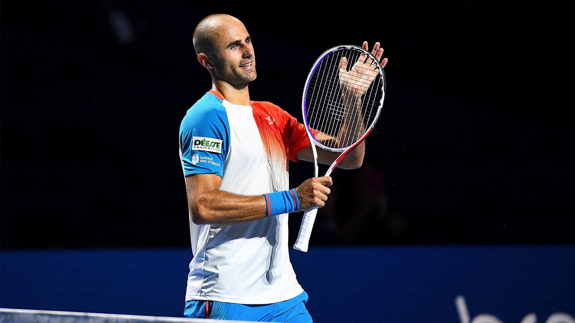 Marius Copil gets into the finals at Swiss Indoors