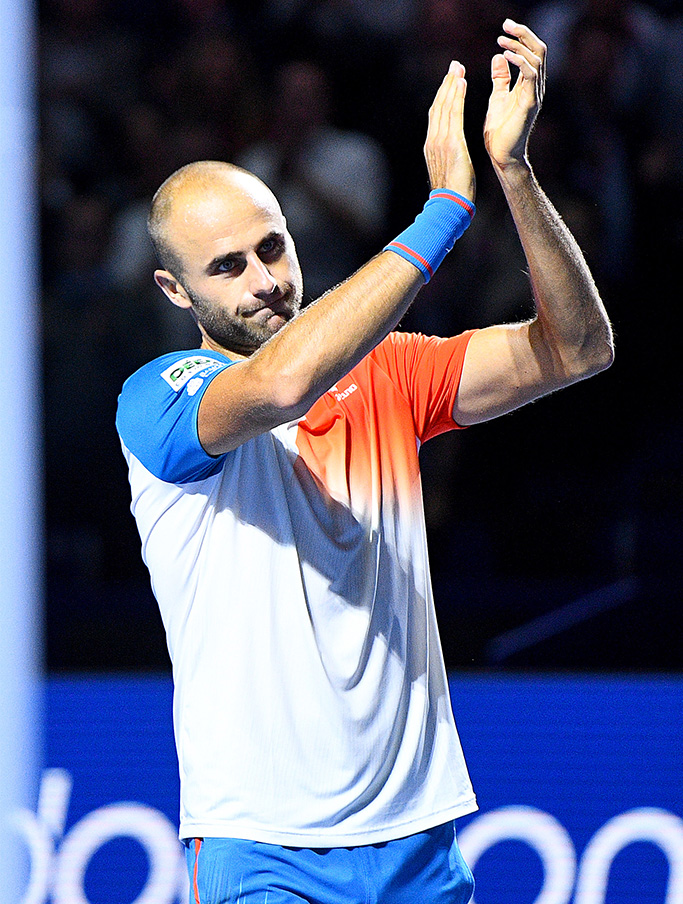 Marius Copil in infrange pe Cilic