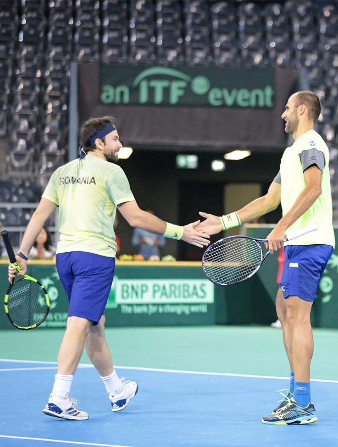 Marius Copil / Florin Mergea against Yassine Idmbarek / Lamine Ouahab