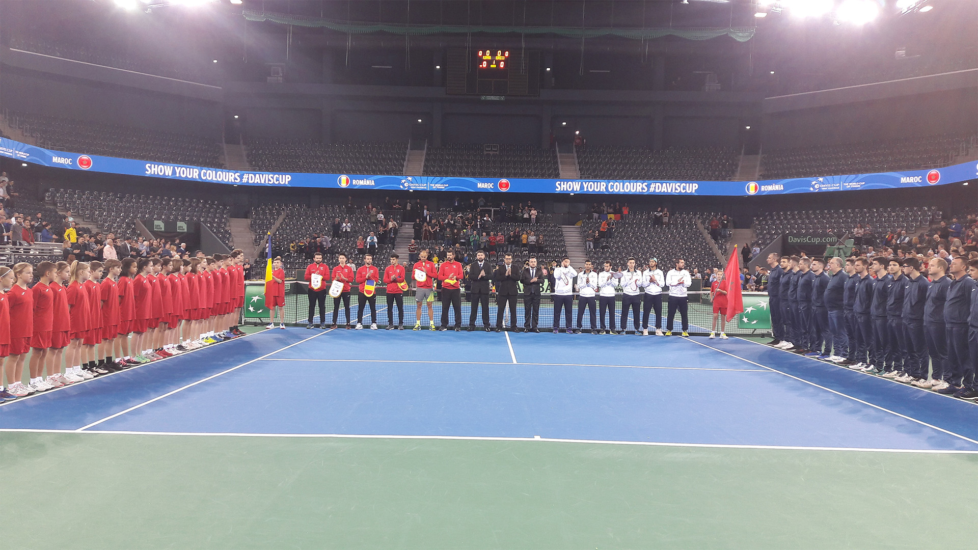 Davis Cup Romania - Maroc, April 2018