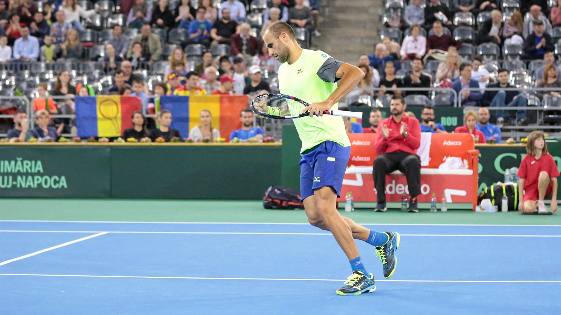Davis Cup, Romania - Maroc