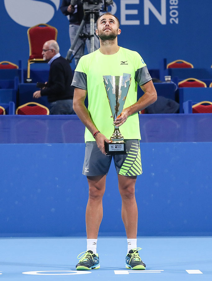 Marius Copil after his first ATP final