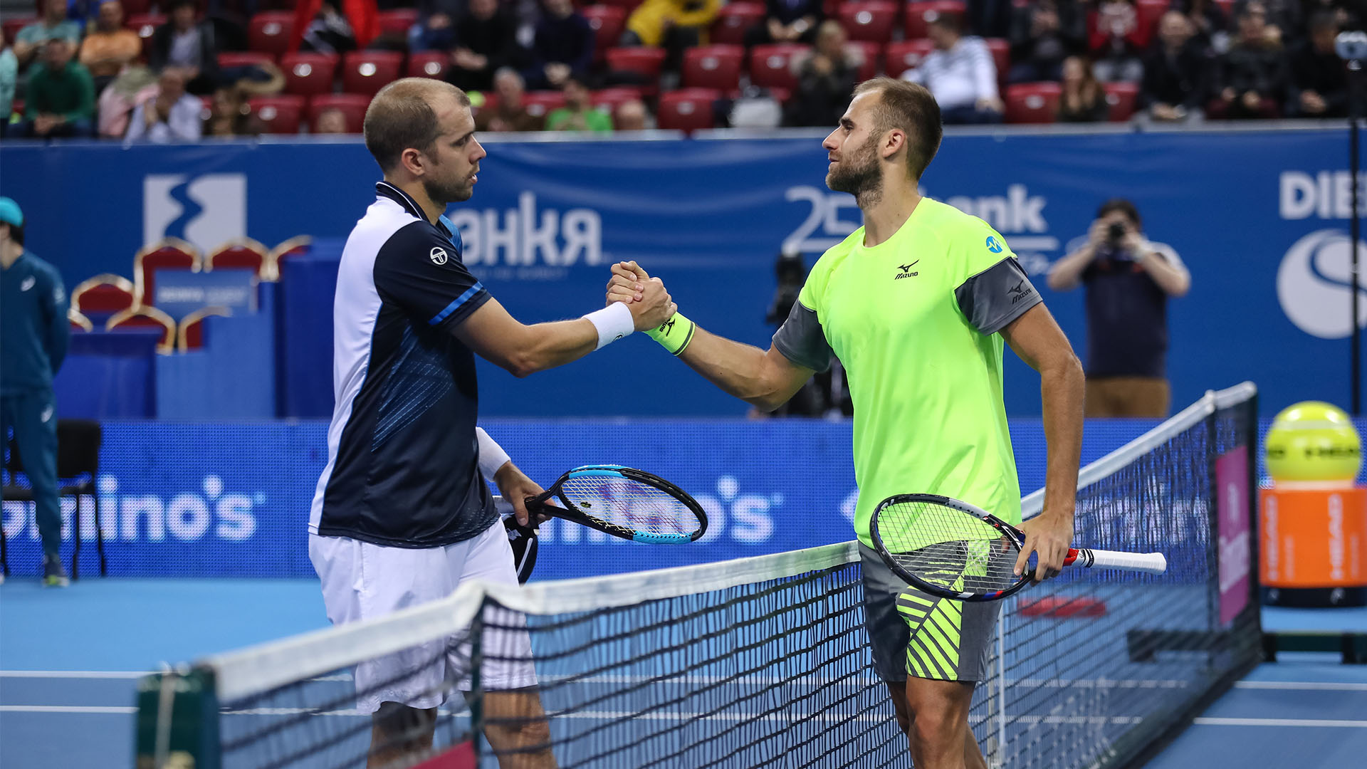 Marius Copil wins against Gilles Muller, Sofia Open
